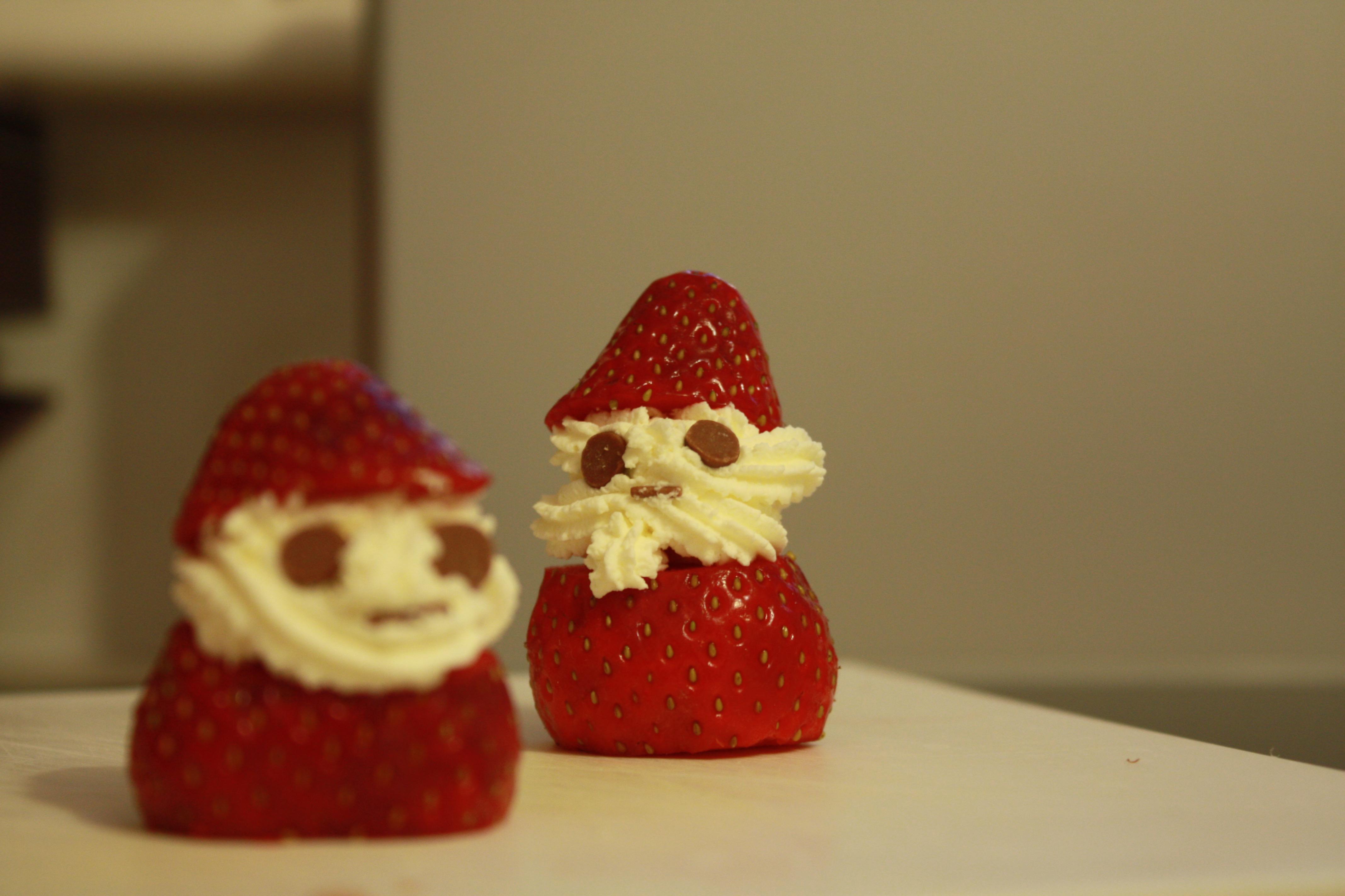 いちごはケーキの王様的な存在。 クリスマス