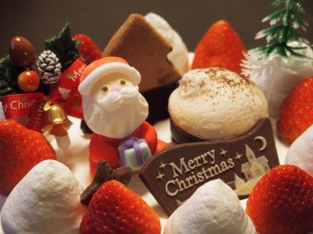 クリスマスケーキの飾りを手作りで! b7fe9139bb86264e95fcc679170ae684_s. クリスマスらしいとってもカワイイ デコレーション